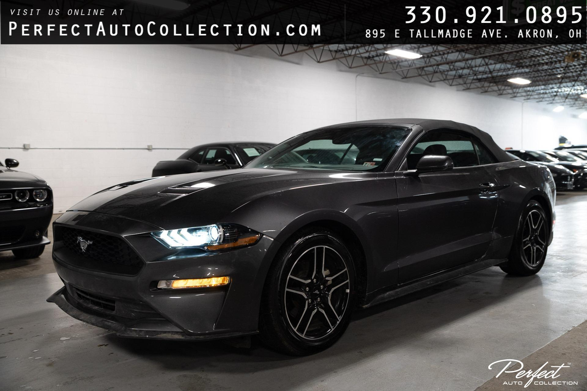 Used 2020 Ford Mustang EcoBoost Premium for sale $26,895 at Perfect Auto Collection in Akron OH 44310 1
