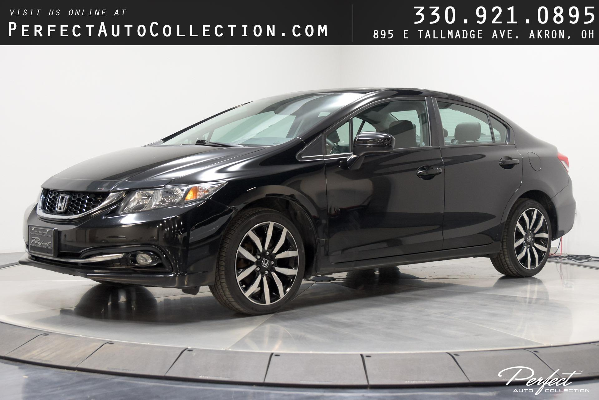 Used 2015 Honda Civic EX-L for sale $10,495 at Perfect Auto Collection in Akron OH 44310 1