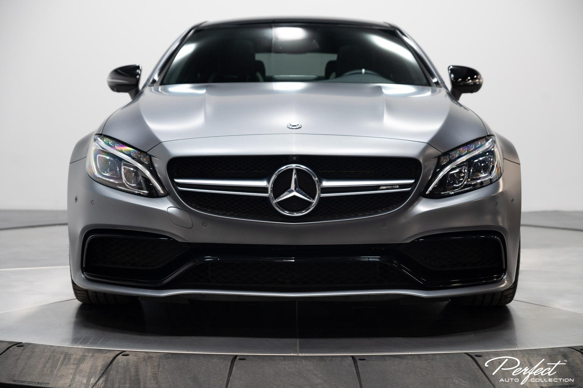 Used 2018 Mercedes-Benz C-Class AMG C 63 S for sale $63,995 at Perfect Auto Collection in Akron OH 44310 2