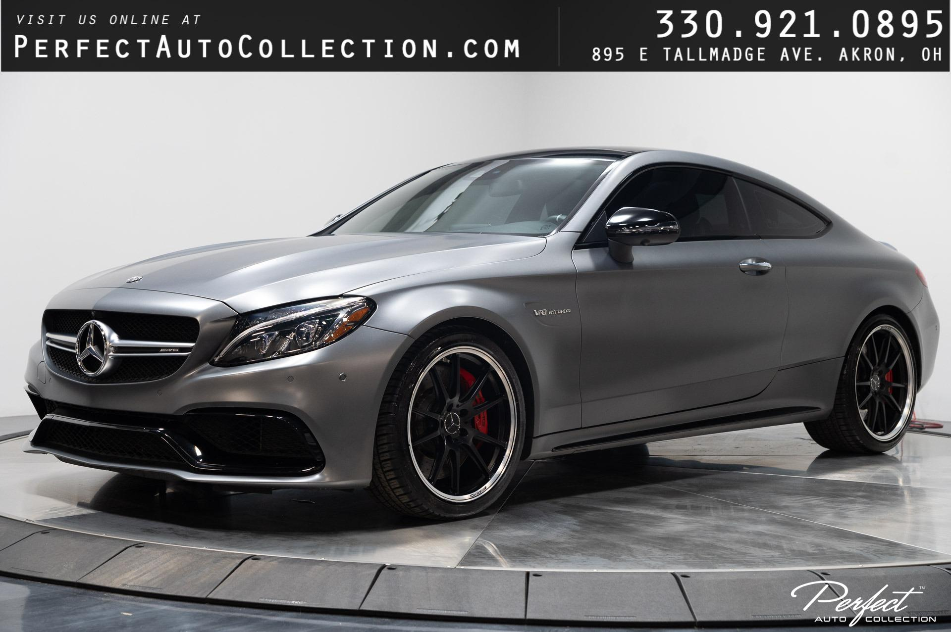Used 2018 Mercedes-Benz C-Class AMG C 63 S for sale $63,995 at Perfect Auto Collection in Akron OH 44310 1