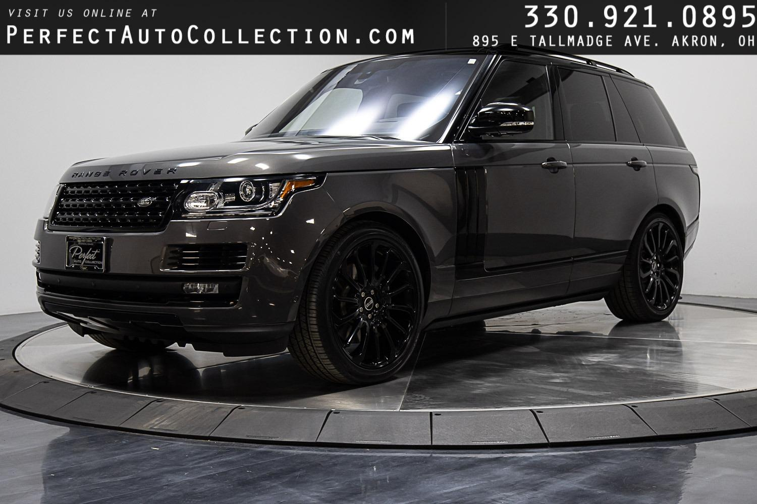Used 2016 Land Rover Range Rover Supercharged for sale $59,495 at Perfect Auto Collection in Akron OH 44310 1