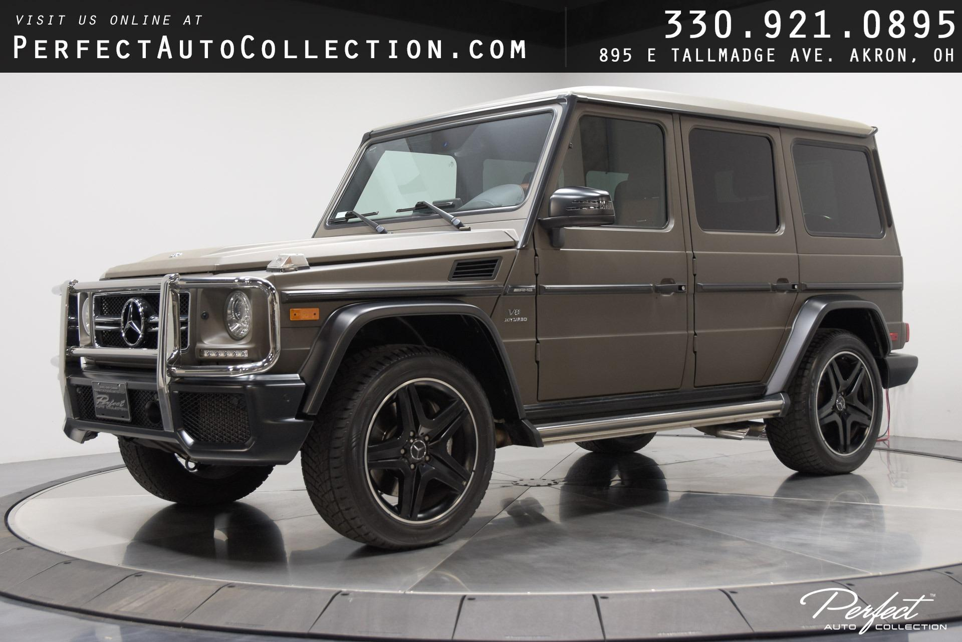 Used 2017 Mercedes-Benz G-Class AMG G 63 for sale Sold at Perfect Auto Collection in Akron OH 44310 1