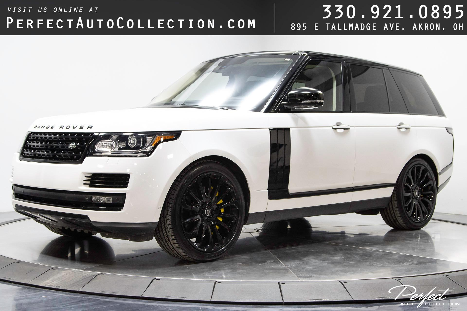 Used 2014 Land Rover Range Rover Autobiography for sale $59,995 at Perfect Auto Collection in Akron OH 44310 1
