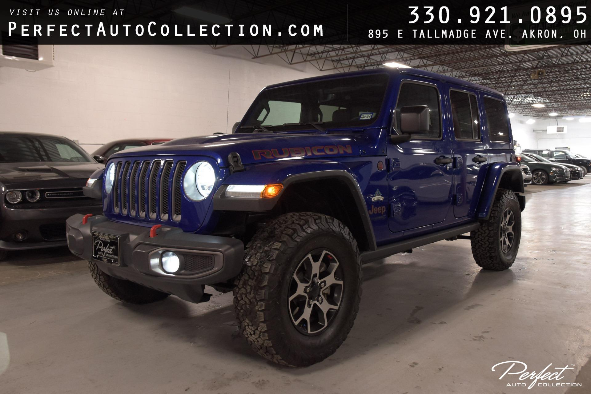 Used 2020 Jeep Wrangler Unlimited Rubicon for sale $49,495 at Perfect Auto Collection in Akron OH 44310 1