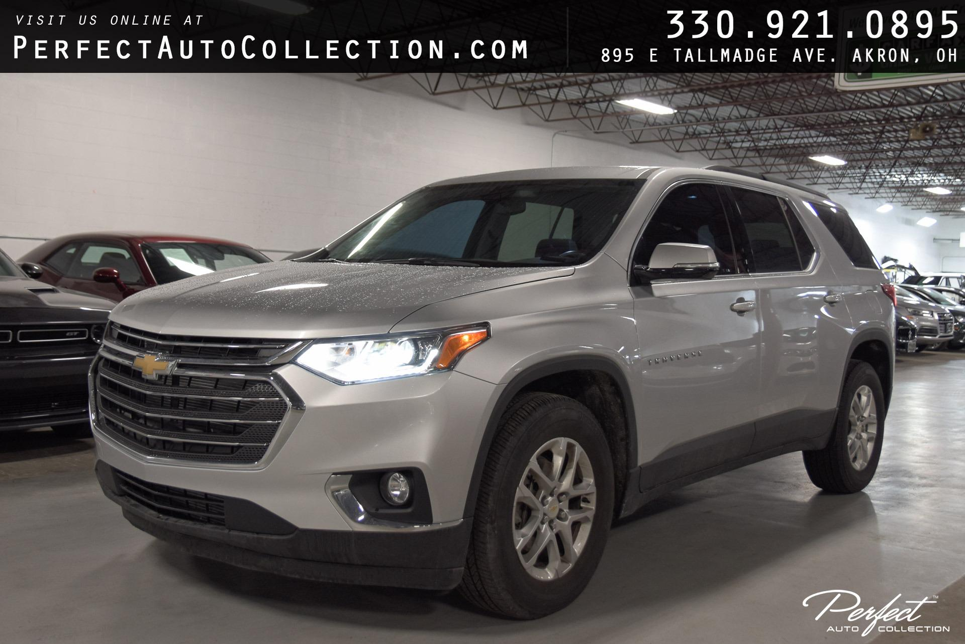 Used 2020 Chevrolet Traverse LT Leather for sale Sold at Perfect Auto Collection in Akron OH 44310 1
