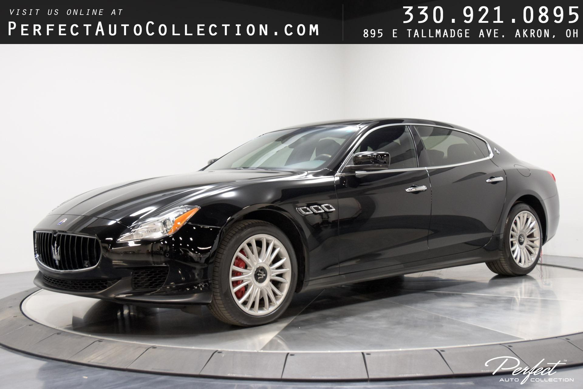 Used 2014 Maserati Quattroporte S Q4 for sale $31,995 at Perfect Auto Collection in Akron OH 44310 1