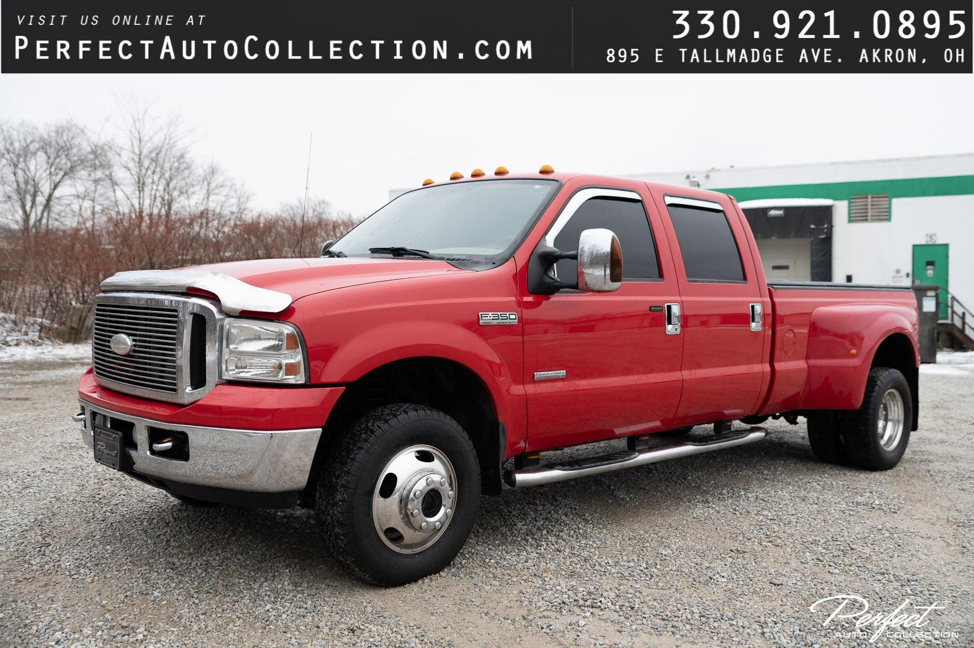 Used 2006 Ford F-350 Super Duty Lariat for sale $18,495 at Perfect Auto Collection in Akron OH 44310 1