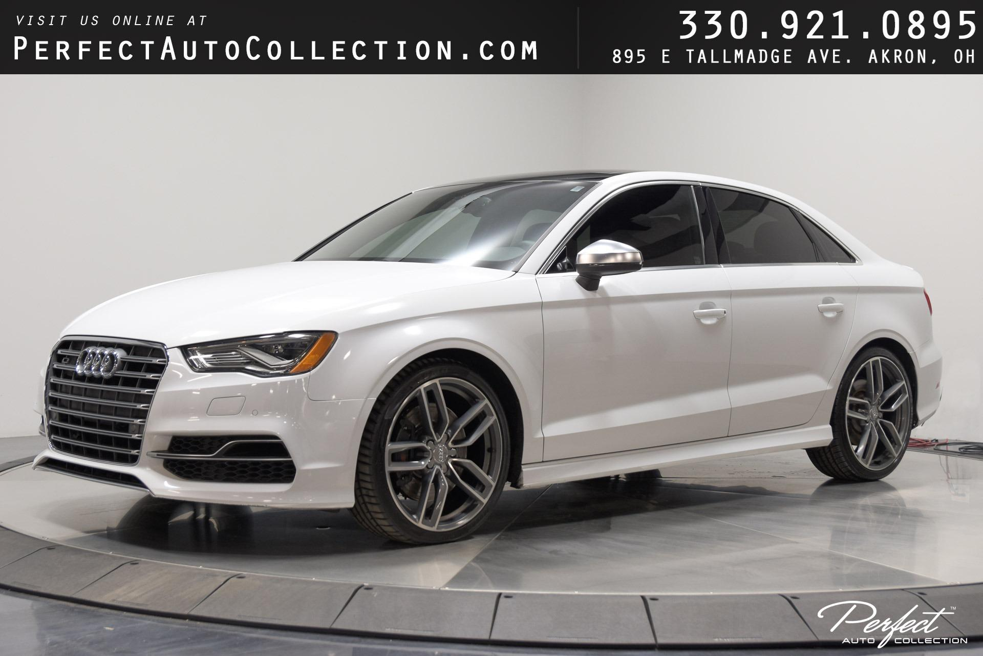 Used 2015 Audi S3 2.0T quattro Prestige for sale $29,495 at Perfect Auto Collection in Akron OH 44310 1