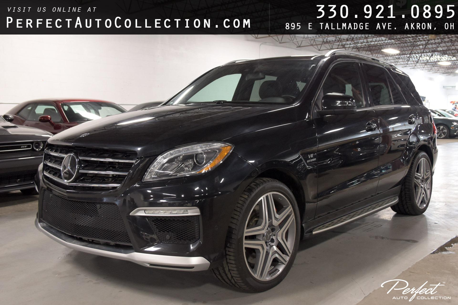 Used 2012 Mercedes-Benz M-Class ML 63 AMG for sale $37,895 at Perfect Auto Collection in Akron OH 44310 1