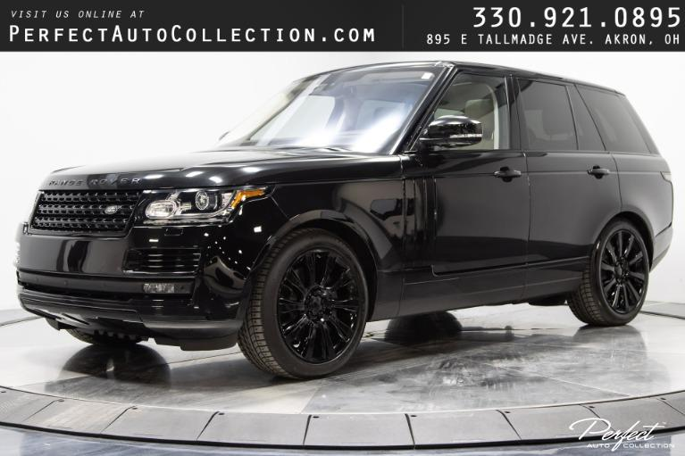 Used 2016 Land Rover Range Rover Supercharged for sale $58,495 at Perfect Auto Collection in Akron OH