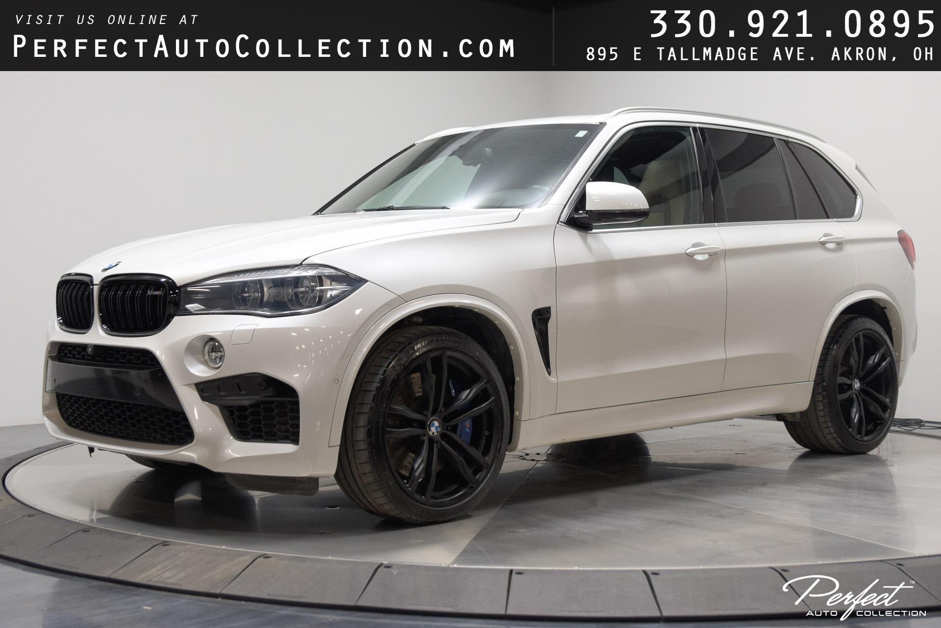 Used 2017 BMW X5 M for sale $54,995 at Perfect Auto Collection in Akron OH 44310 1