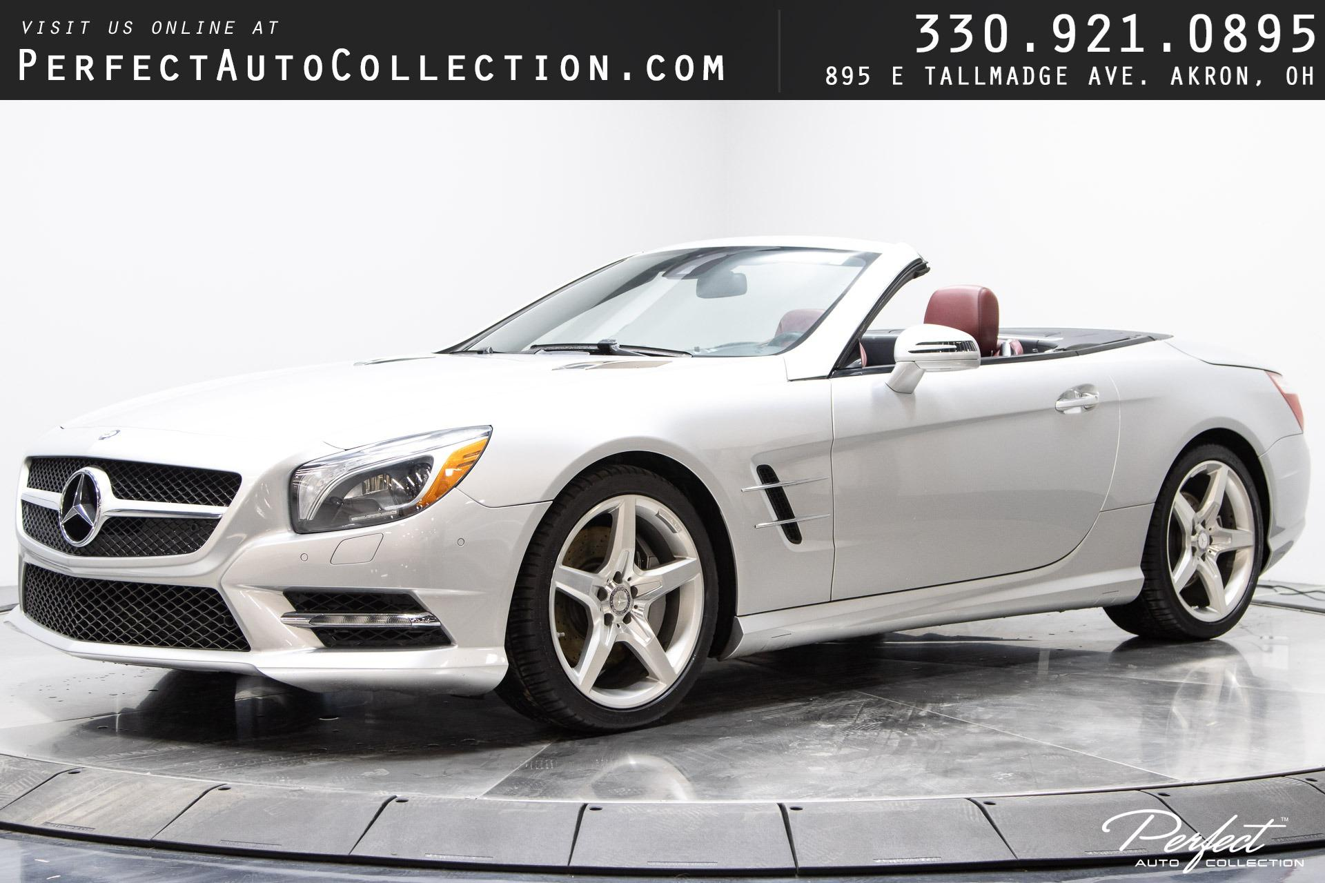 Used 2013 Mercedes-Benz SL-Class SL 550 for sale $44,495 at Perfect Auto Collection in Akron OH 44310 1