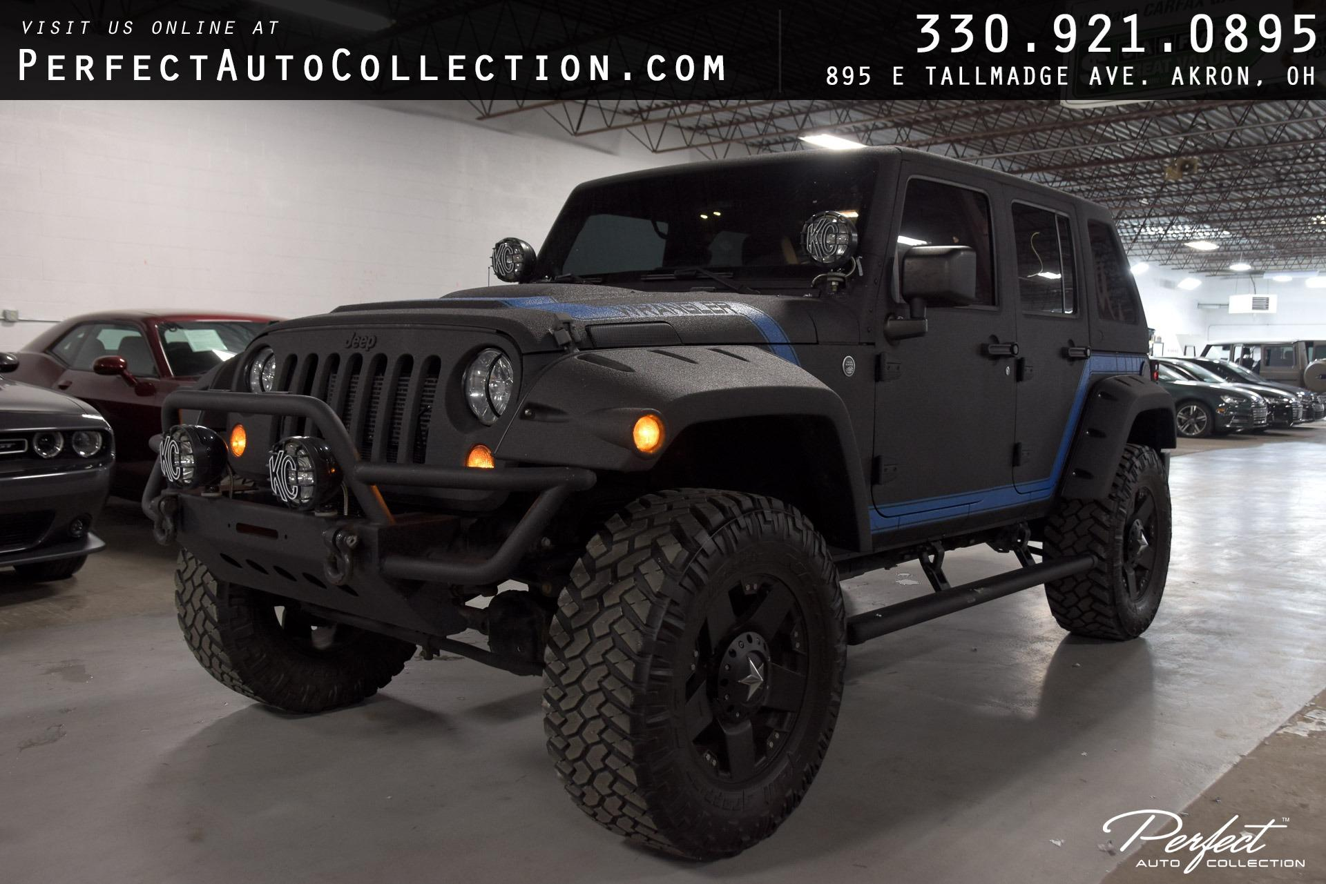Used 2013 Jeep Wrangler Unlimited Sport for sale $31,895 at Perfect Auto Collection in Akron OH 44310 1