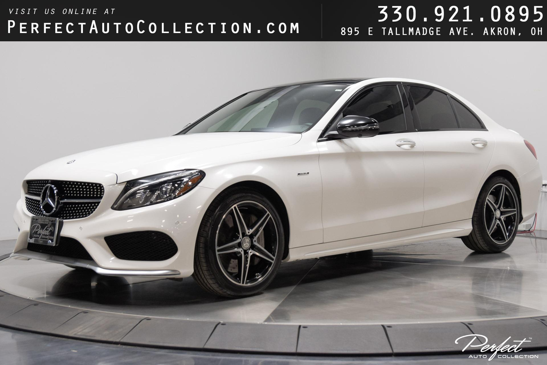 Used 2016 Mercedes-Benz C-Class C 450 AMG for sale $33,895 at Perfect Auto Collection in Akron OH 44310 1