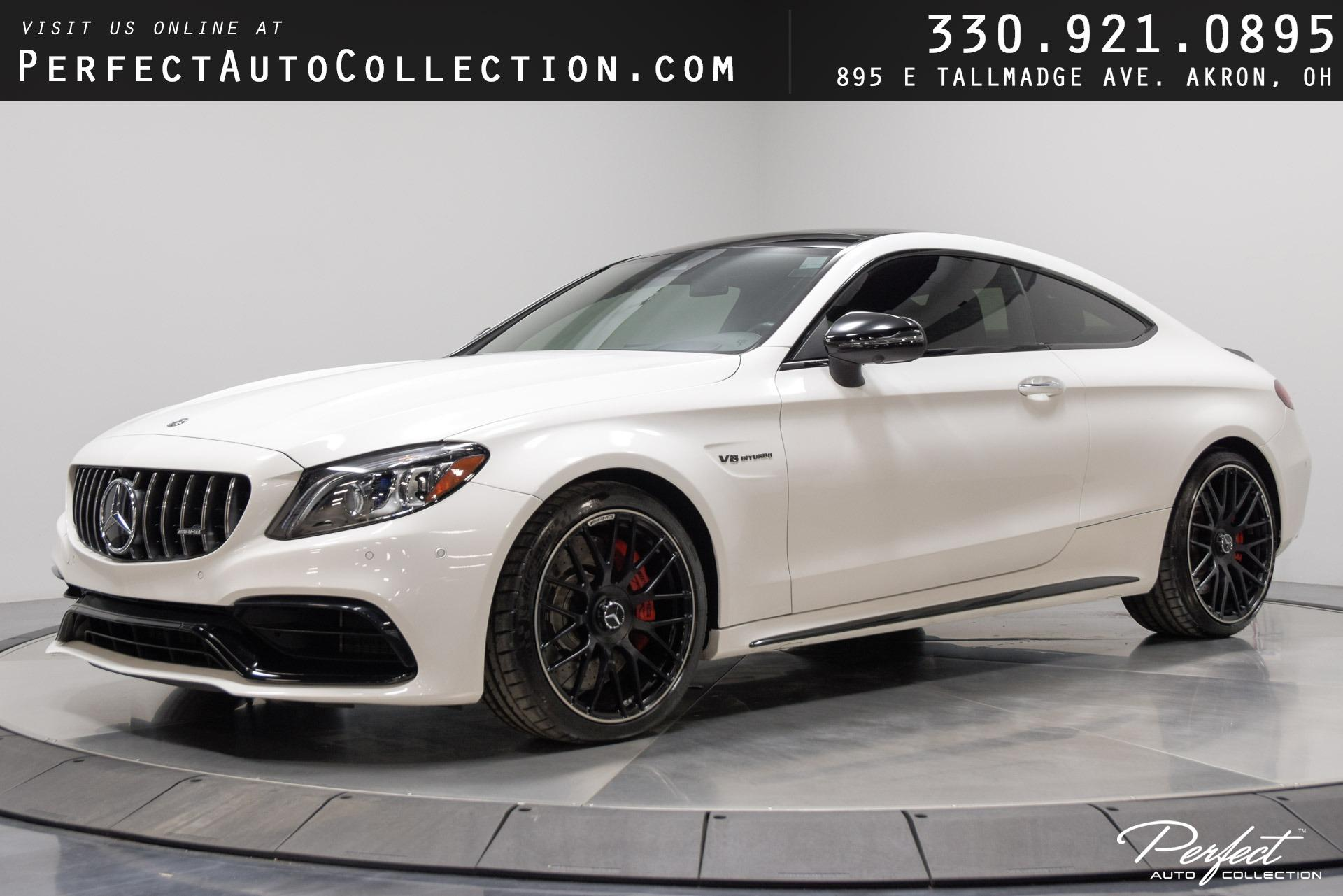 Used 2019 Mercedes-Benz C-Class AMG C 63 S for sale Sold at Perfect Auto Collection in Akron OH 44310 1