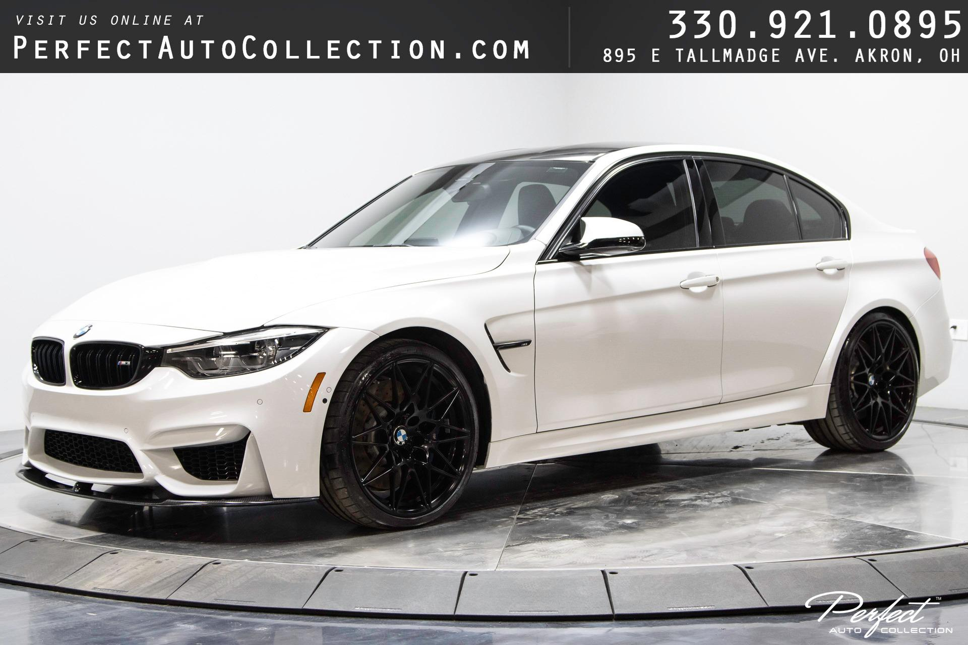 Used 2018 BMW M3 for sale $59,895 at Perfect Auto Collection in Akron OH 44310 1