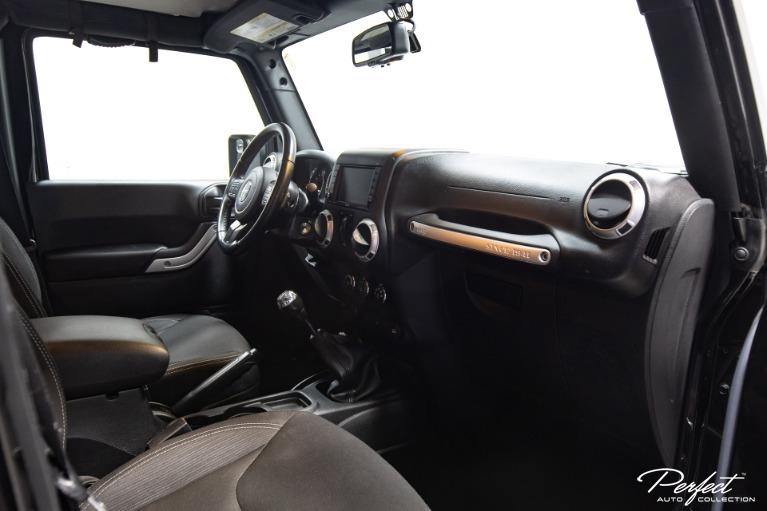 Used 2016 Jeep Wrangler Unlimited Sahara