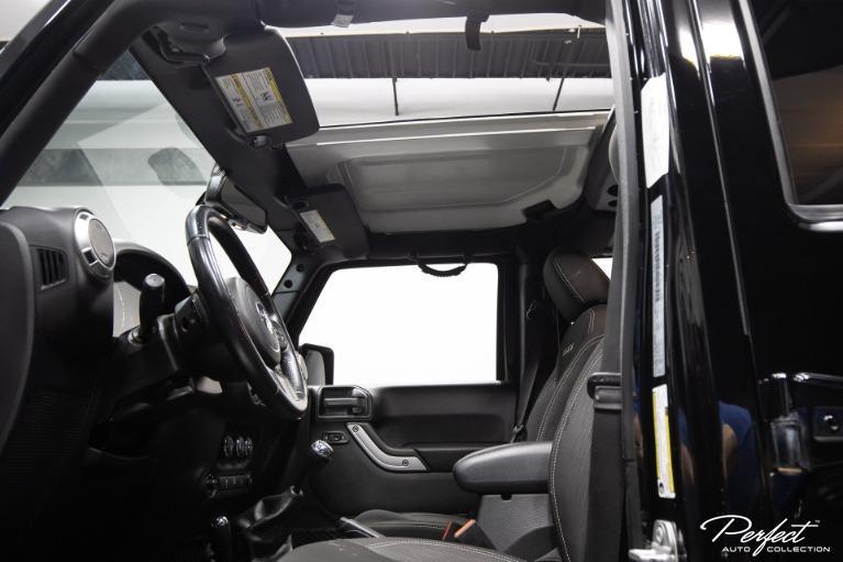 Used 2016 Jeep Wrangler Unlimited Sahara