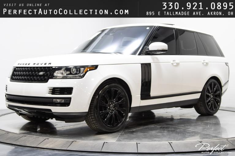 Used 2016 Land Rover Range Rover Supercharged for sale $57,795 at Perfect Auto Collection in Akron OH