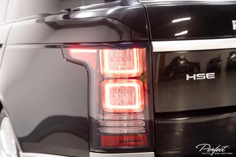 Used 2017 Land Rover Range Rover HSE