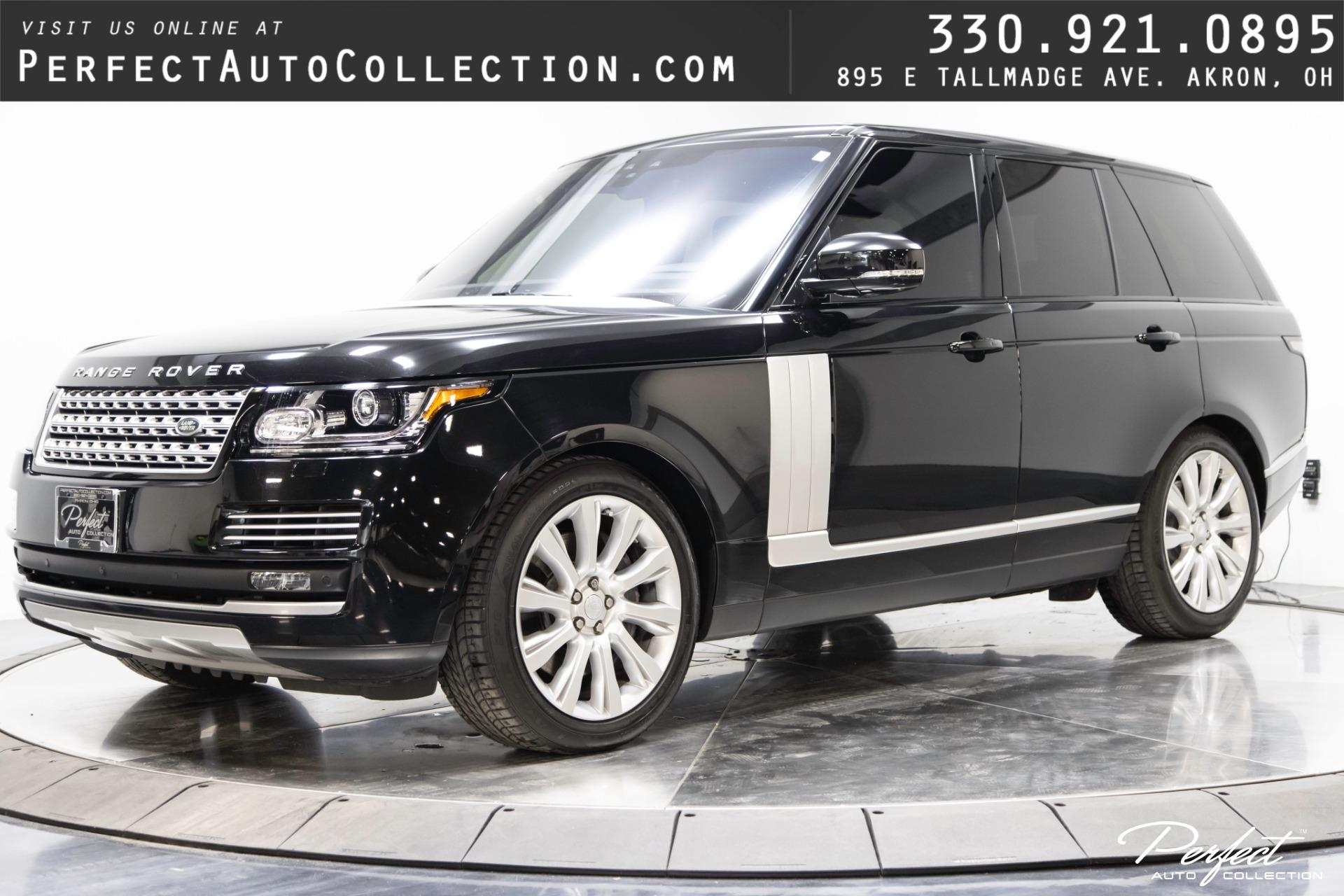 Used 2017 Land Rover Range Rover HSE for sale $64,995 at Perfect Auto Collection in Akron OH 44310 1