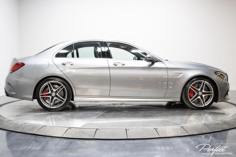 Used 2016 Mercedes Benz C Class AMG C 63 S