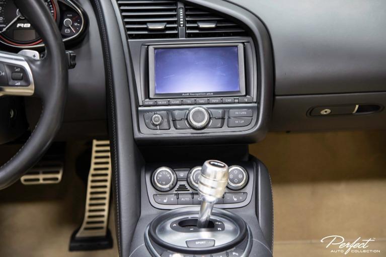Used 2011 Audi R8 52 quattro Spyder