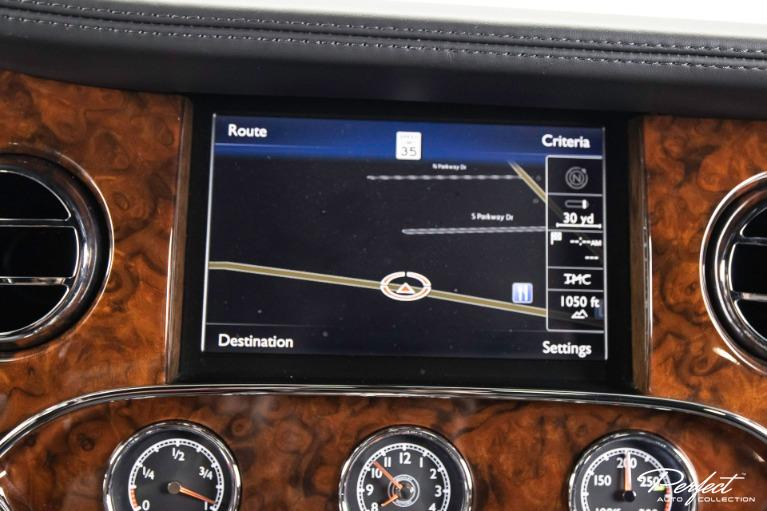 Used 2014 Bentley Mulsanne Mulliner Driving Specification