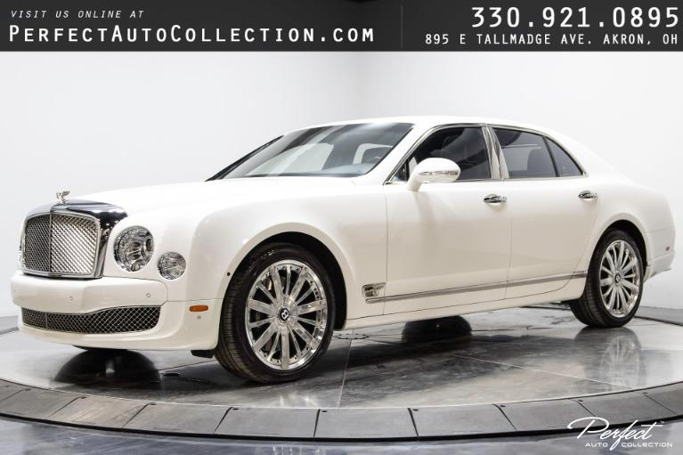 Used 2014 Bentley Mulsanne Mulliner Driving Specification for sale $129,495 at Perfect Auto Collection in Akron OH