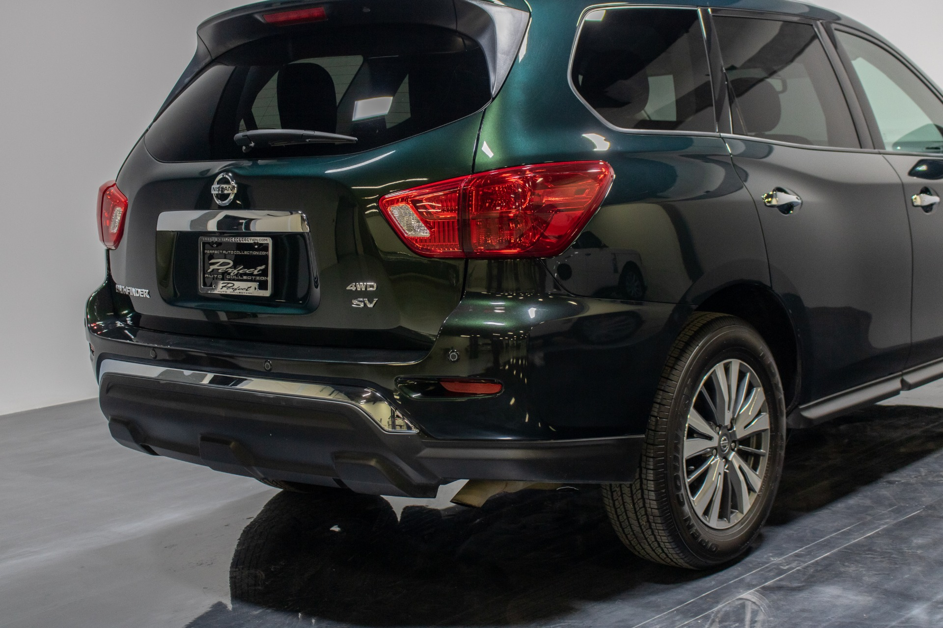 Used 2019 Nissan Pathfinder SV Sport Utility 4D for sale Sold at Perfect Auto Collection in Akron OH 44310 4