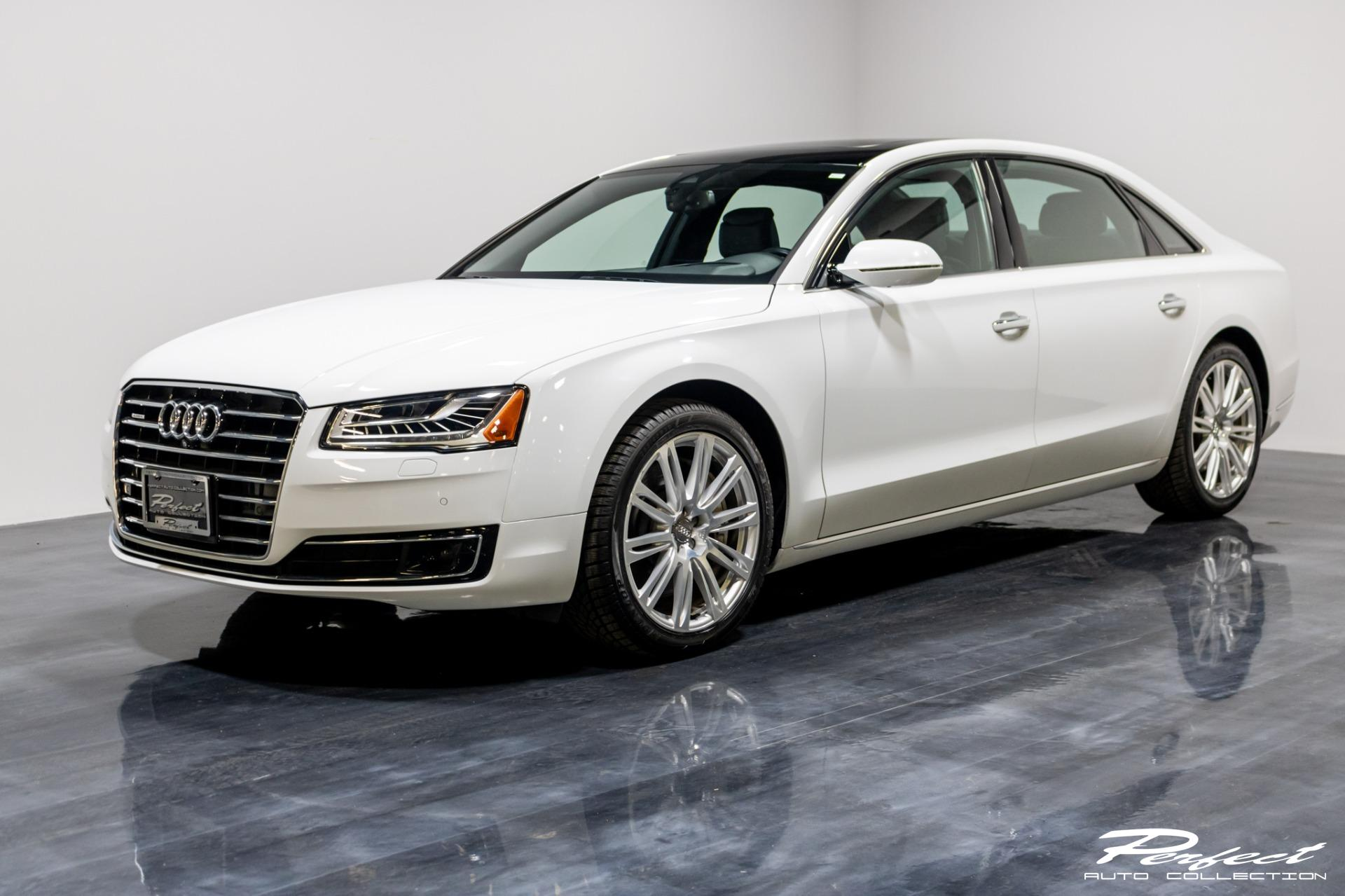 Used 2016 Audi A8 L 3.0T quattro for sale Sold at Perfect Auto Collection in Akron OH 44310 1