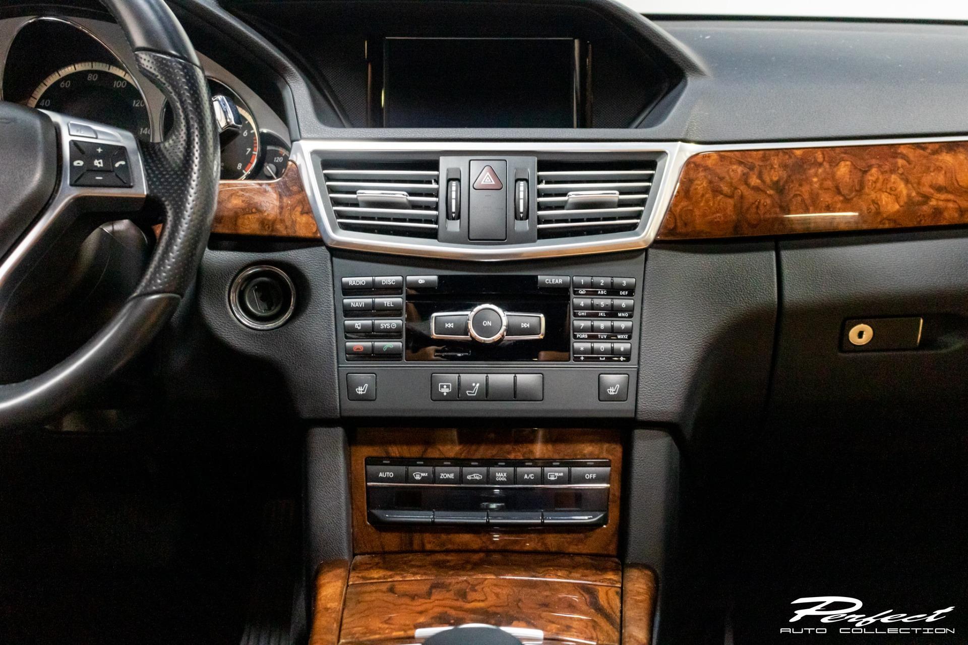 Used 2013 Mercedes Benz E Class E 350 Sport 4MATIC