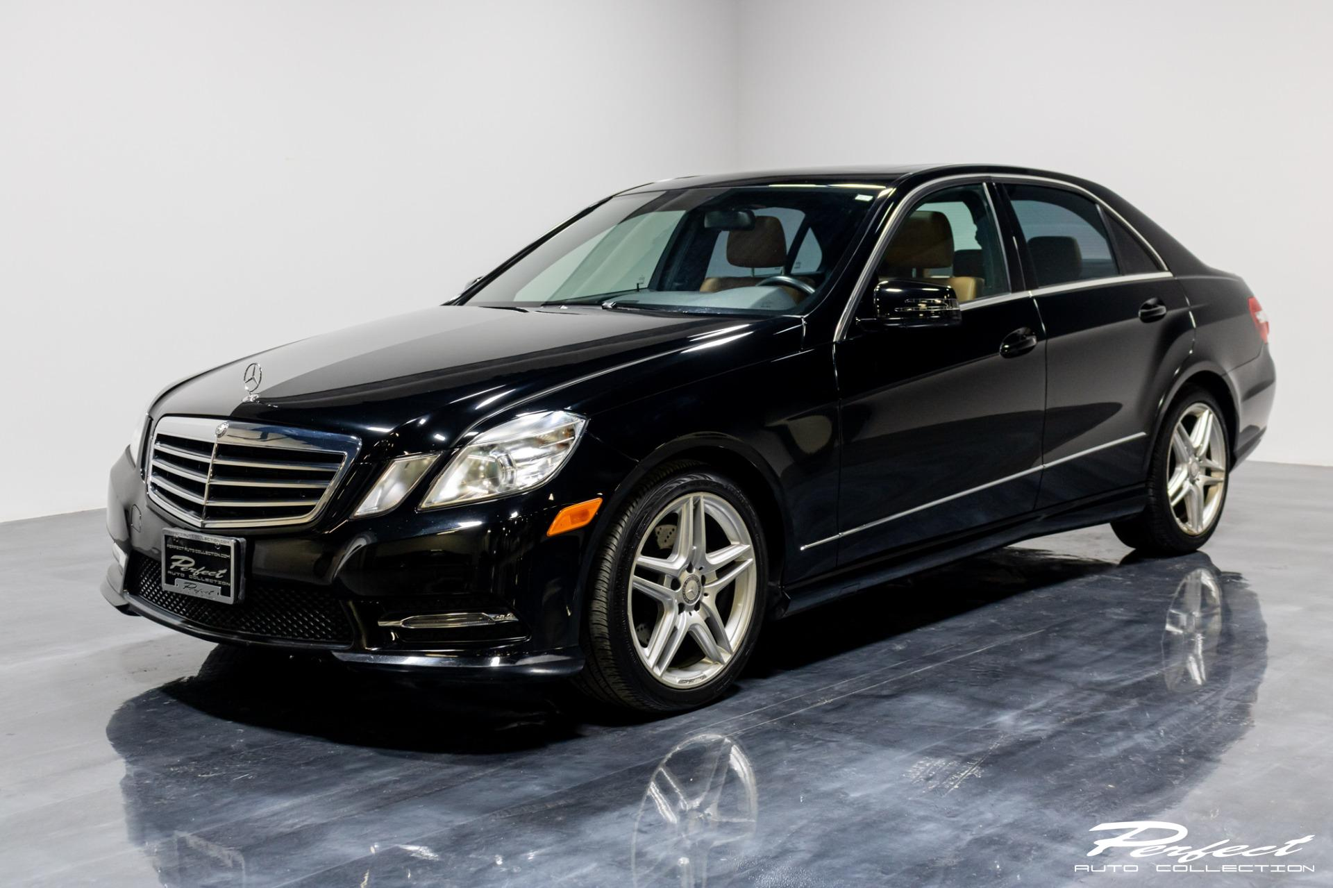 Used 2013 Mercedes-Benz E-Class E 350 Sport 4MATIC for sale Sold at Perfect Auto Collection in Akron OH 44310 1