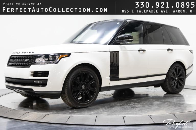 Used 2017 Land Rover Range Rover HSE for sale $64,495 at Perfect Auto Collection in Akron OH