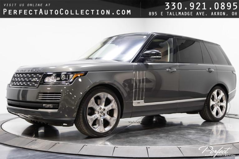 Used 2016 Land Rover Range Rover SVAutobiography LWB for sale $93,995 at Perfect Auto Collection in Akron OH