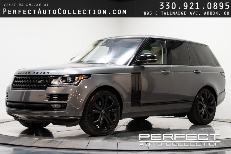 Used 2017 Land Rover Range Rover HSE for sale $68,995 at Perfect Auto Collection in Akron OH