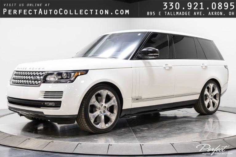 Used 2014 Land Rover Range Rover Supercharged LWB for sale $40,495 at Perfect Auto Collection in Akron OH