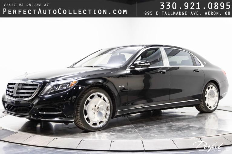 Used 2016 Mercedes-Benz S-Class Mercedes-Maybach S 600 for sale $95,995 at Perfect Auto Collection in Akron OH